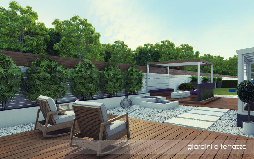 Beautiful progetti terrazzi photos idee arredamento casa