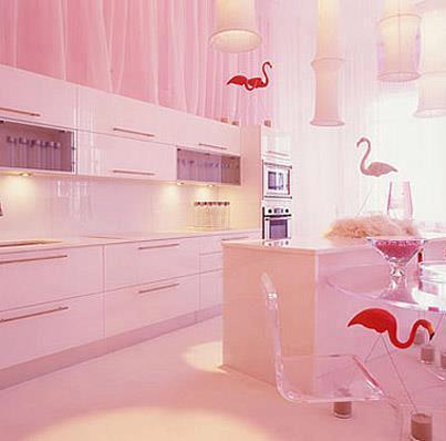 Cucina in rosa! | Style Relooking – Progettazione Interni a ...
