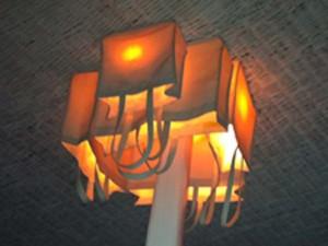 LAMPADARIO BUSTE