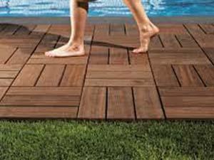 Pavimenti da giardino fai da te in legno style relooking progettazione interni a basso costo - Pavimentazione giardino in legno ...